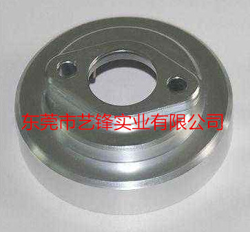 Numerical control precision machining of aluminum parts