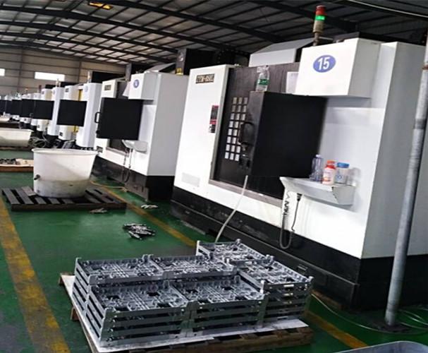 产品CNC加工区