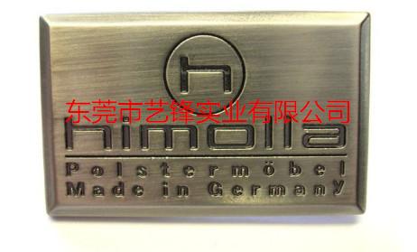 锌合金标牌压铸件